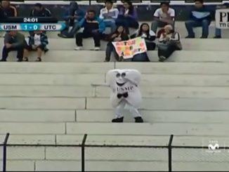 Dancing tooth mascot